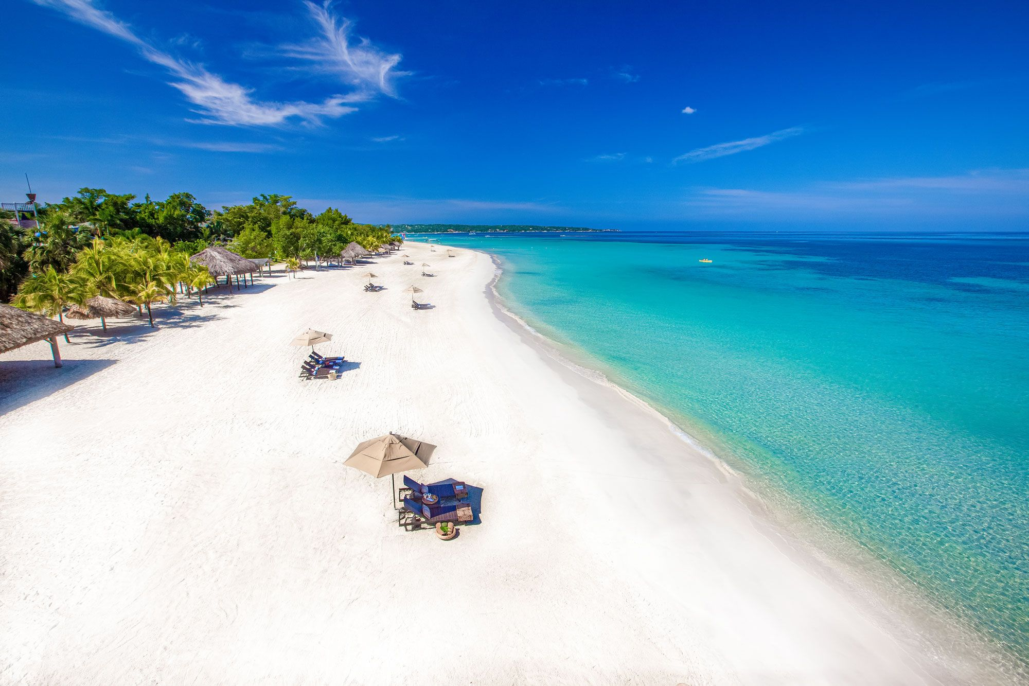 Beaches Negril Seven Mile Beach Aerial