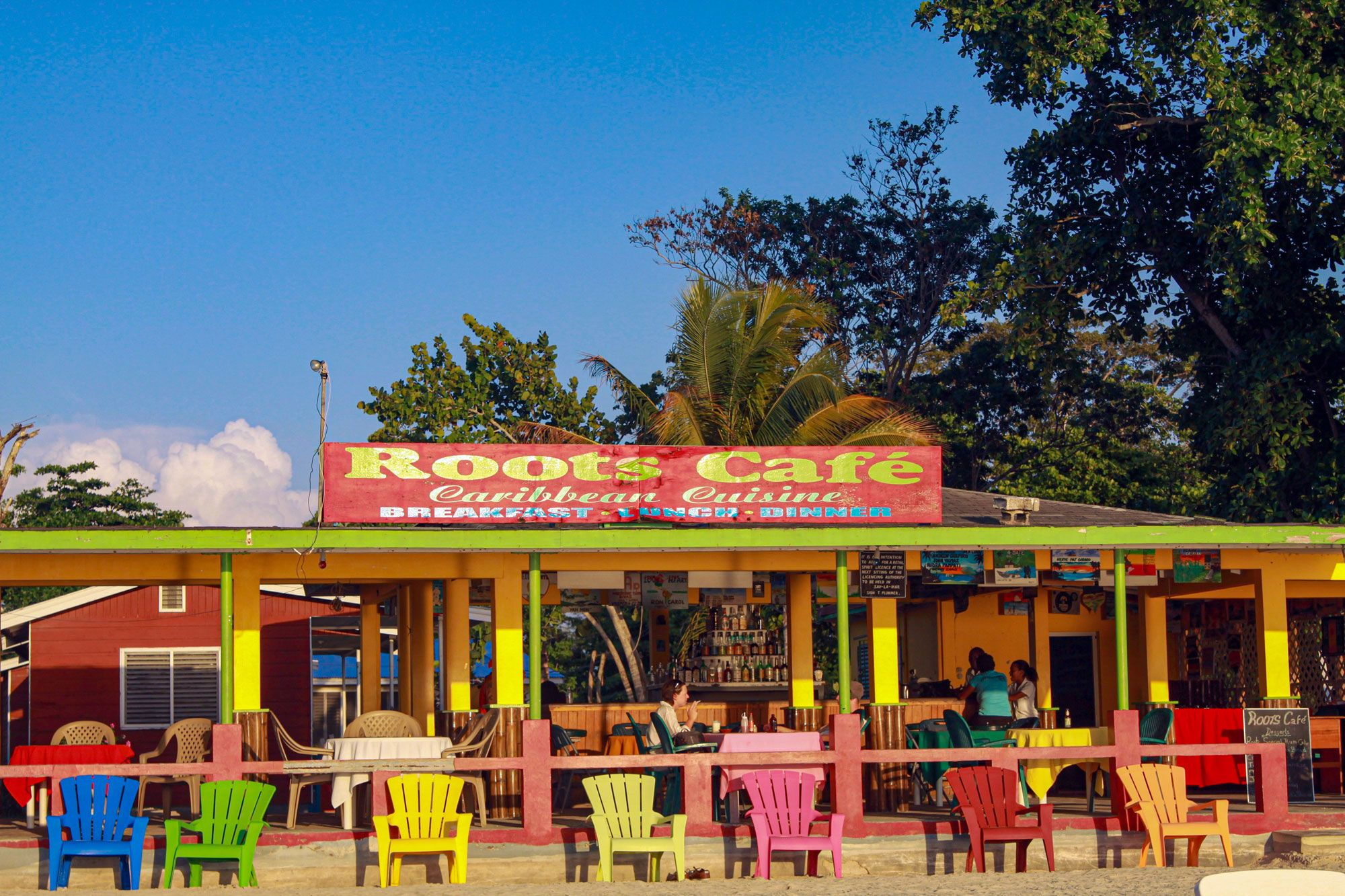 Roots Cafe Negril Jamaica