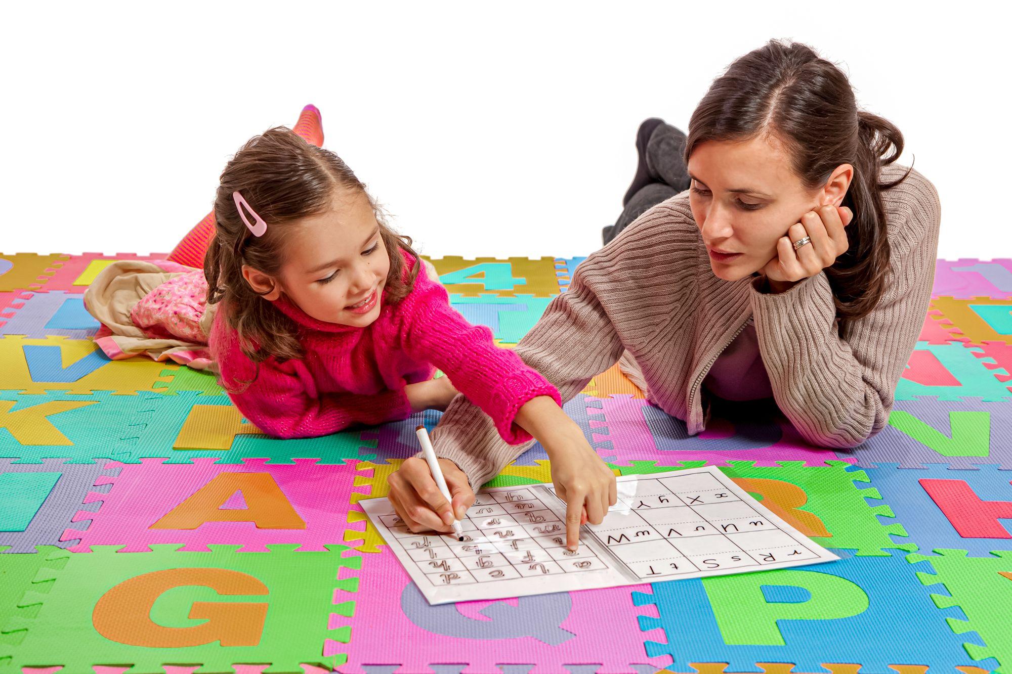 Educational Indoor Activities Cursive