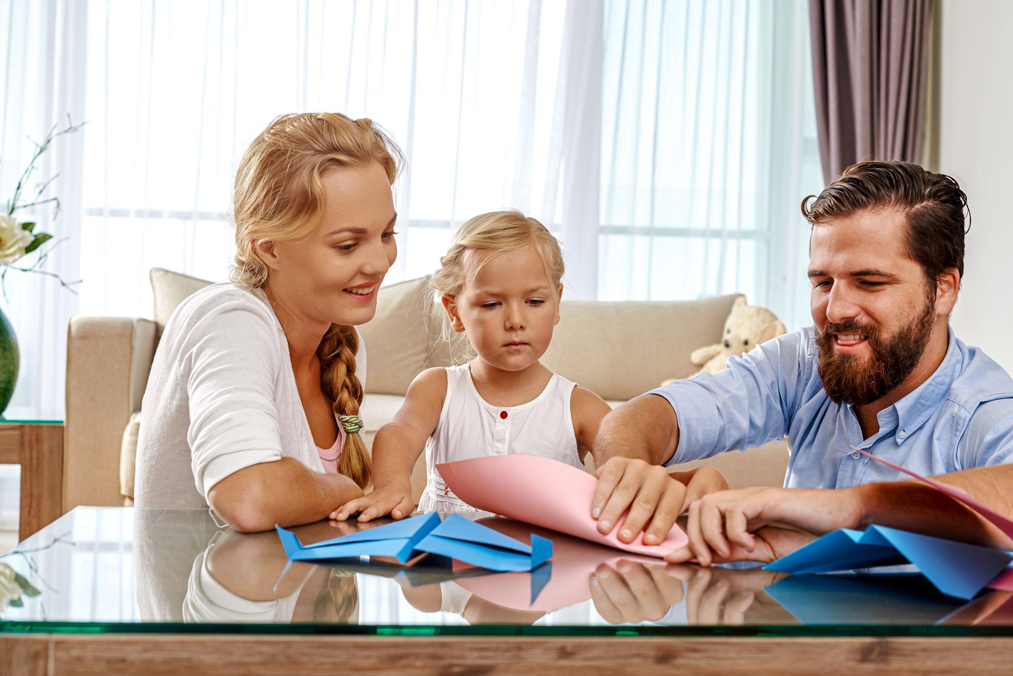 Educational Indoor Activities Family Origami