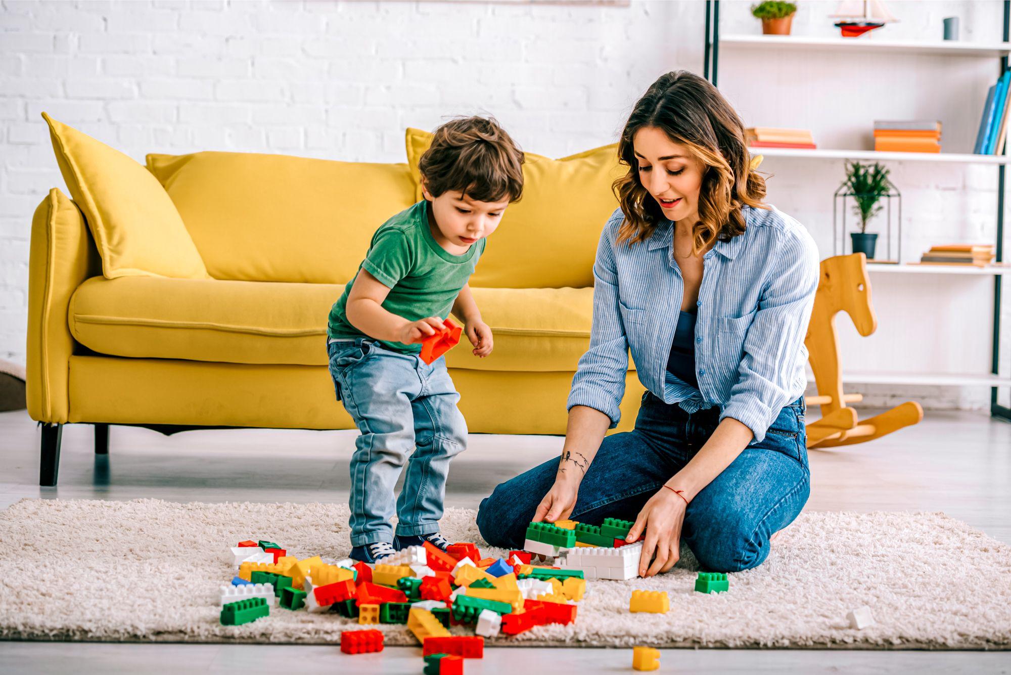 Educational Indoor Activities Kid Lego Set