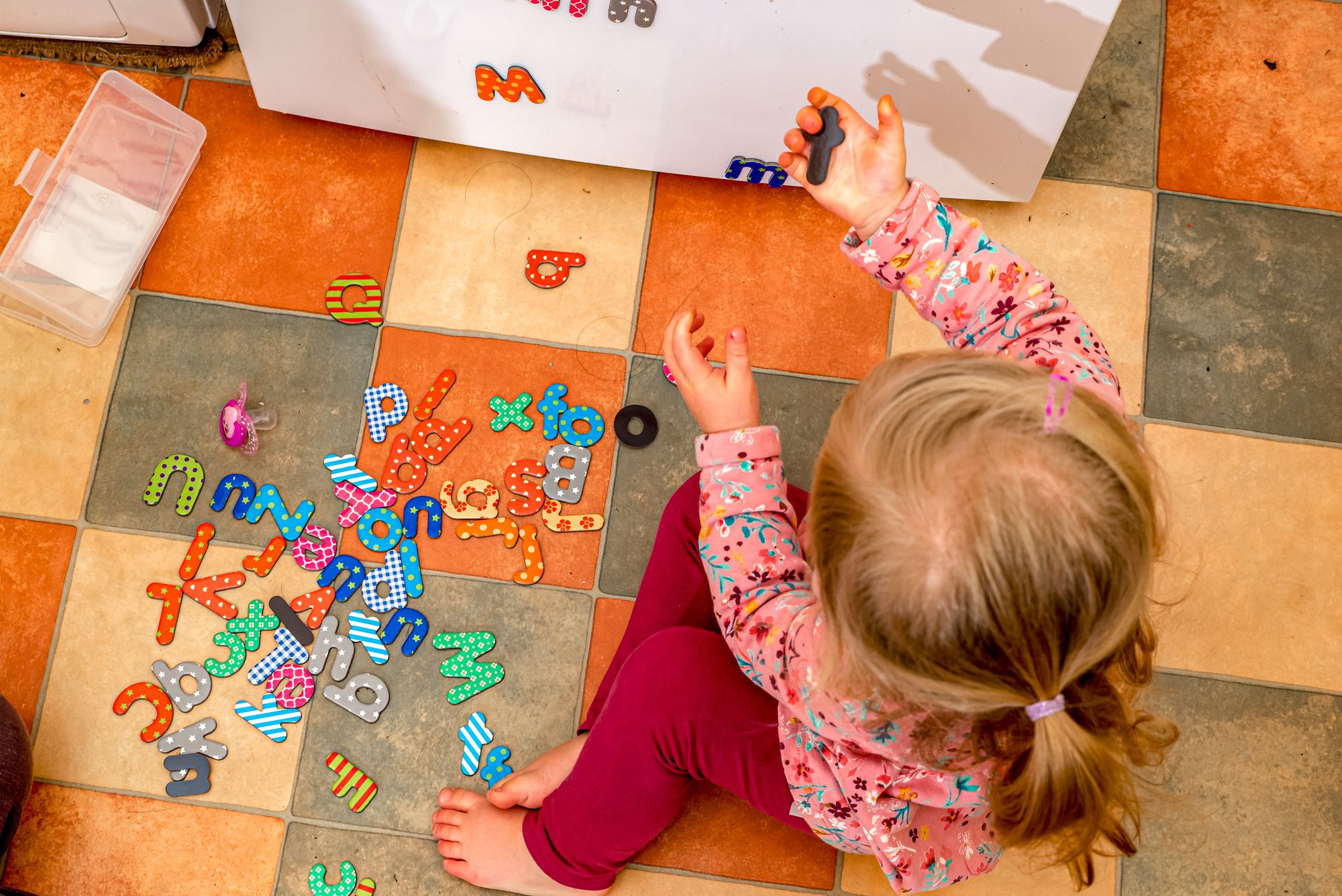 Educational Indoor Activities Magnet Fridge Letters