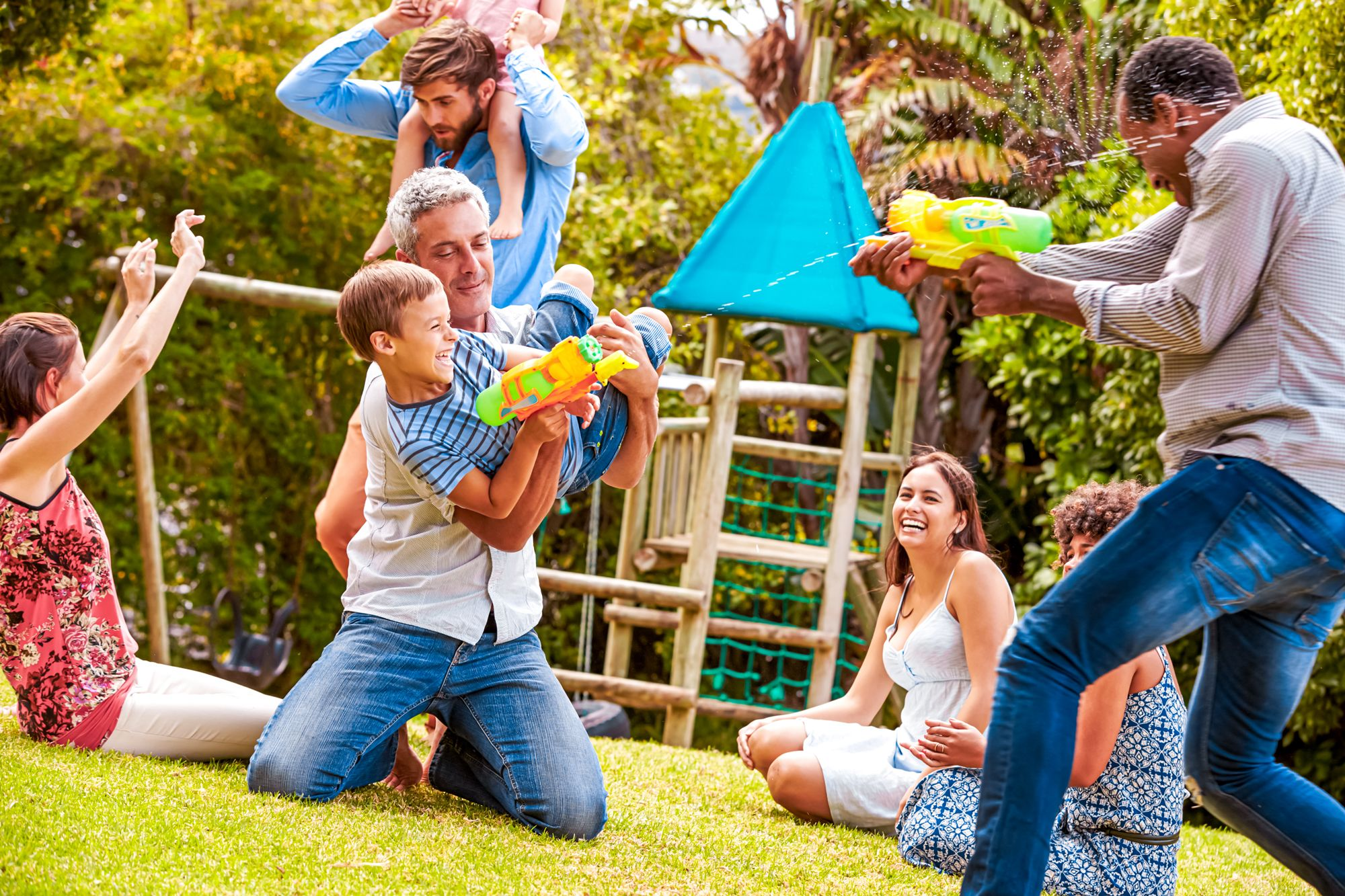Family Outdoor Activity Screen Time