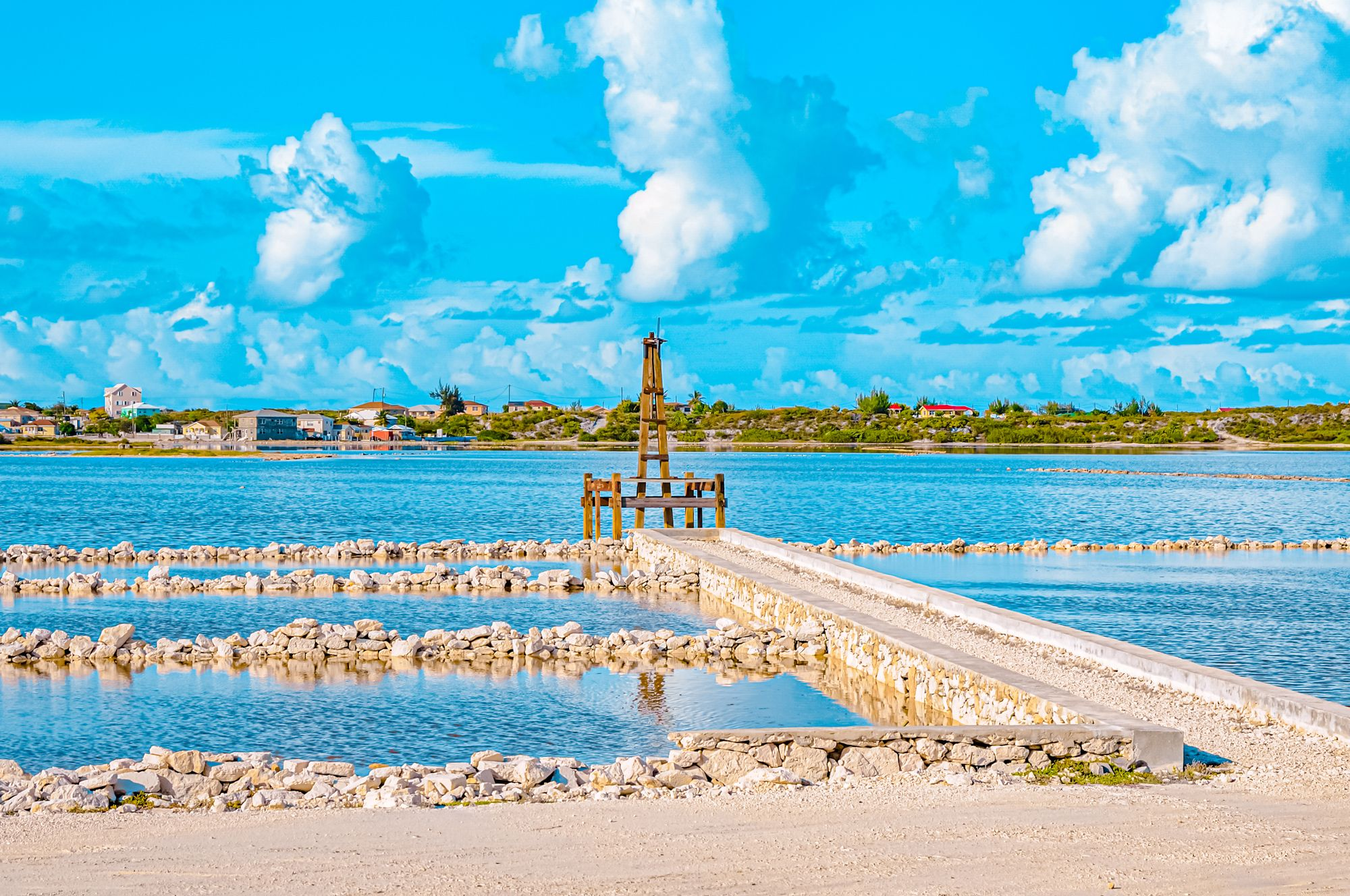 Turks Caicos Salt Evaporation