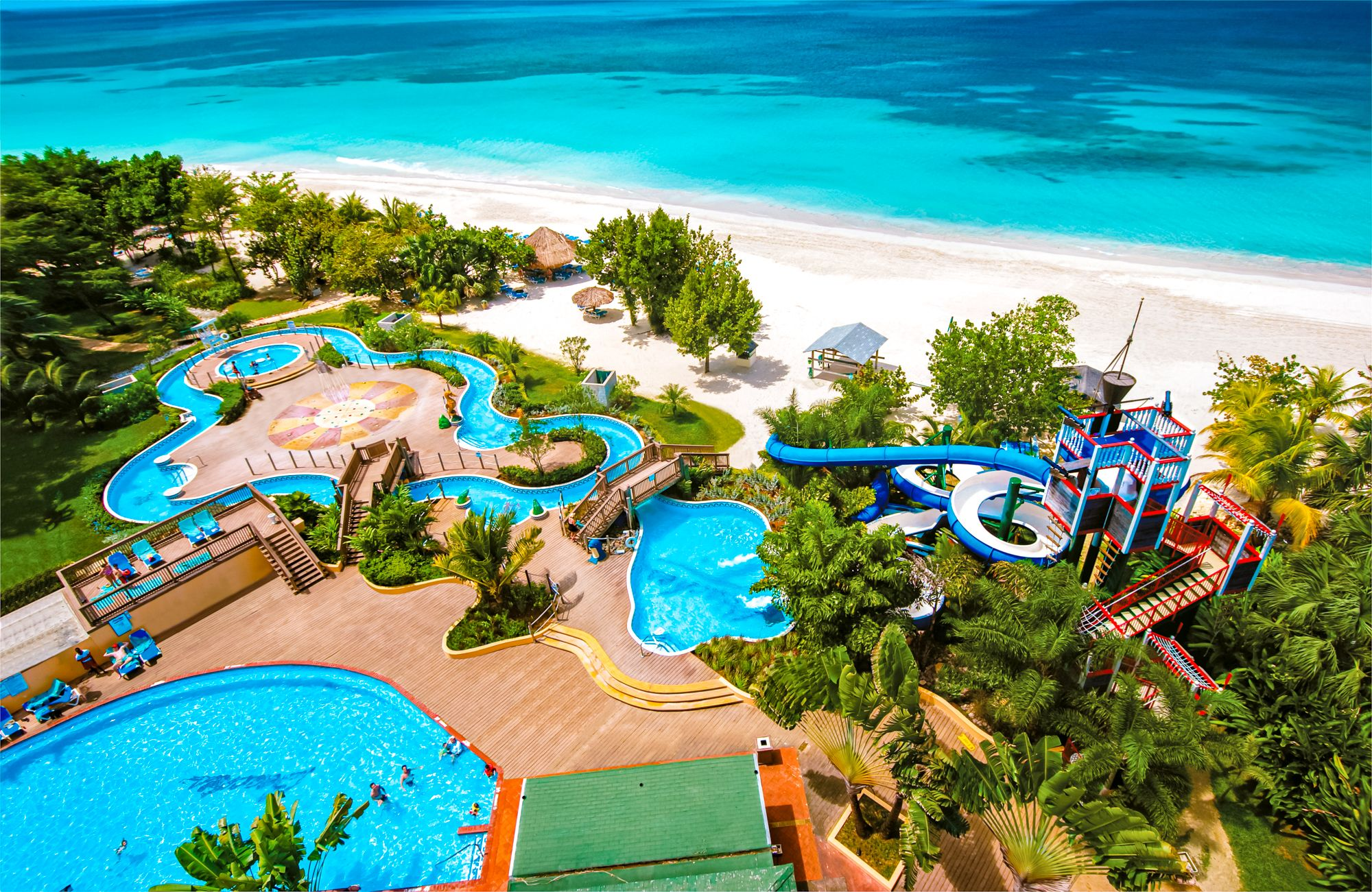 Beaches Negril Aerial Waterpark