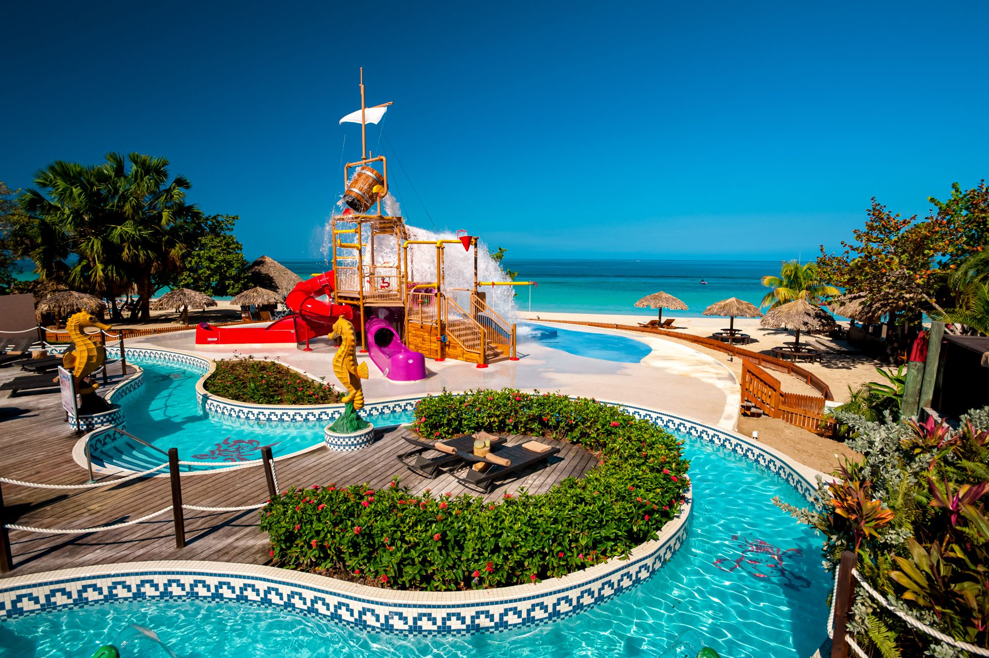 Beaches Negril Waterpark Oceanview