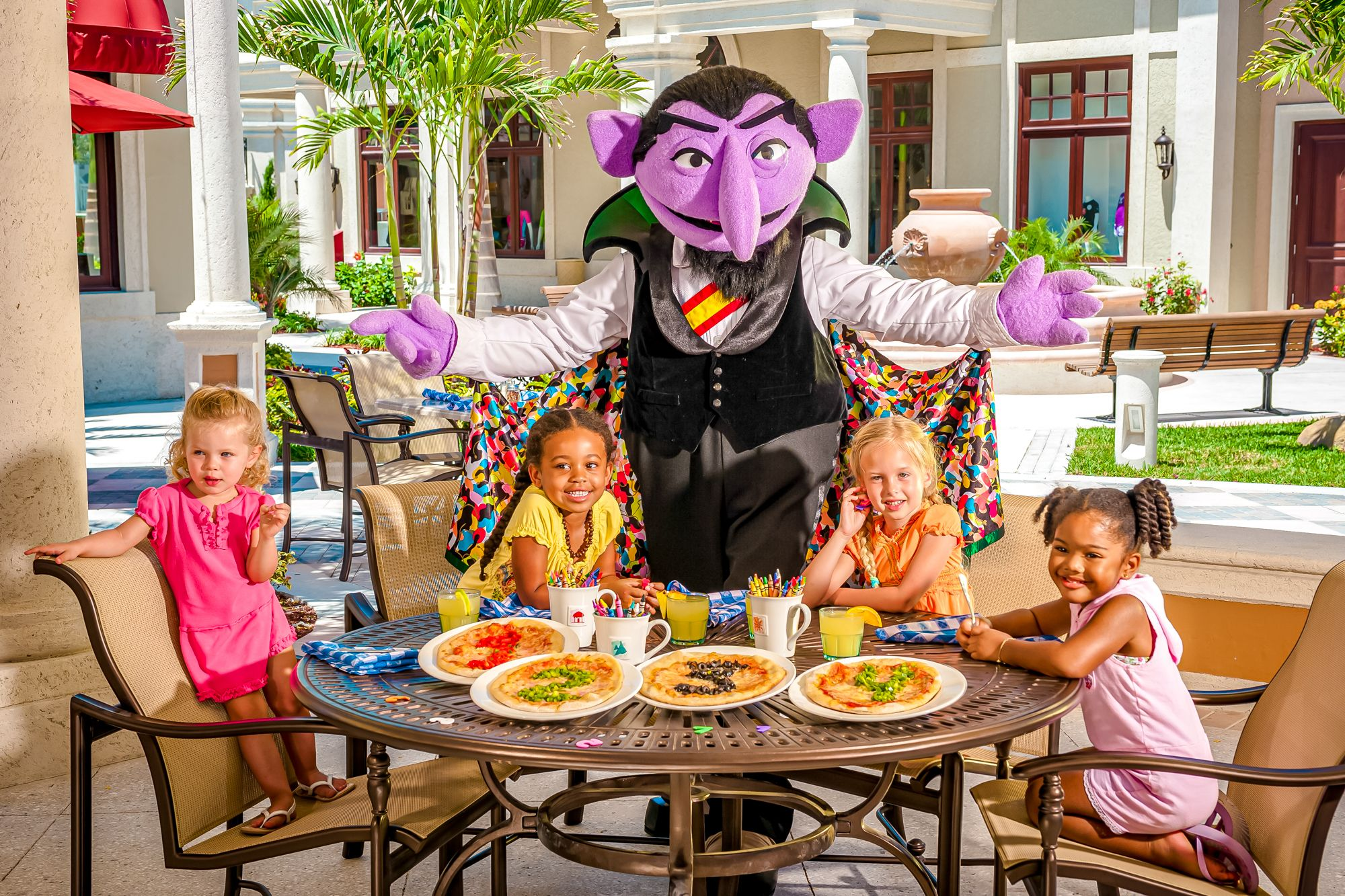 Beaches Turks Caicos Pizza Party Sesame Street