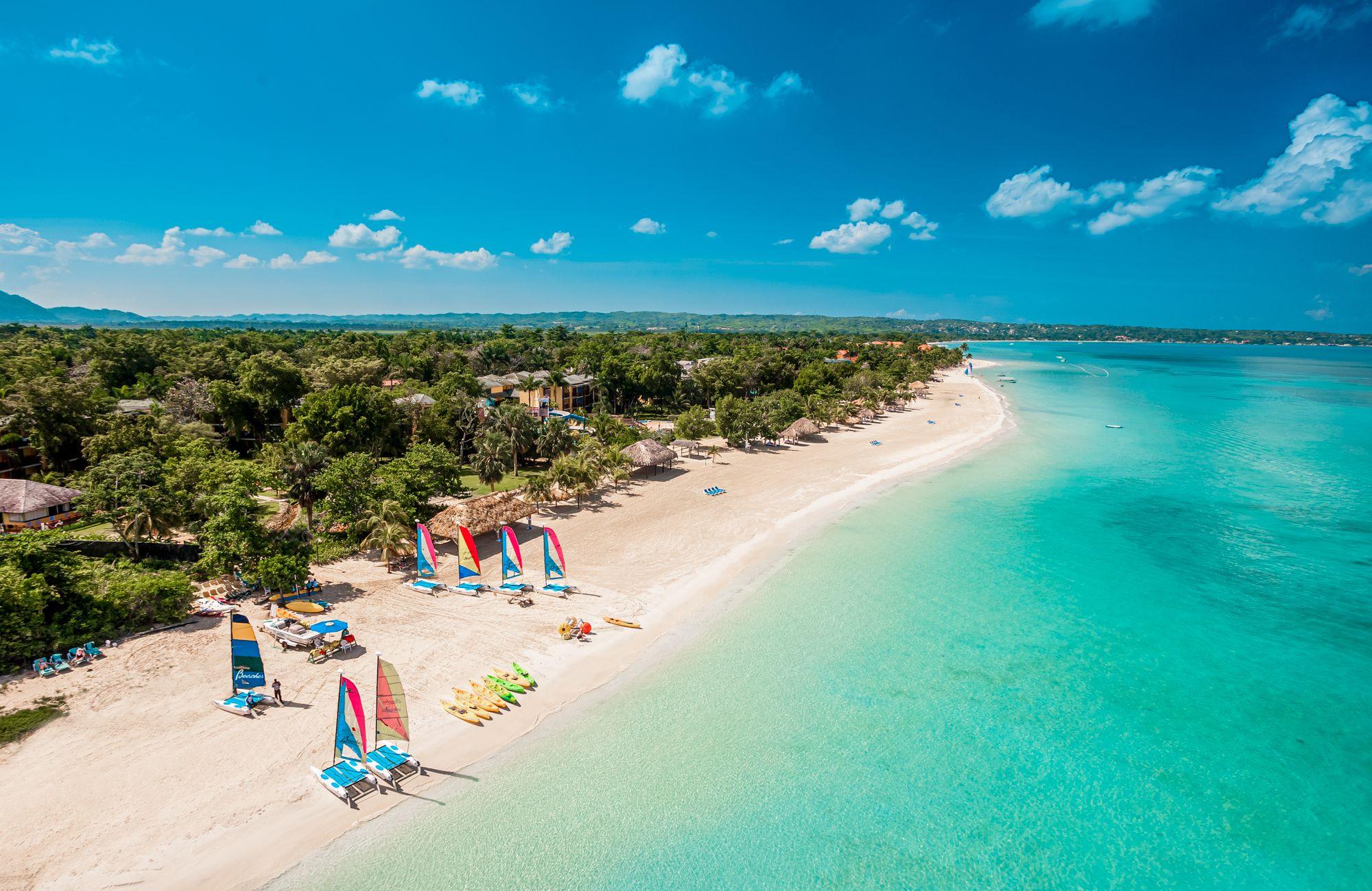 Beaches Negril Seven Mile Beach Aerial