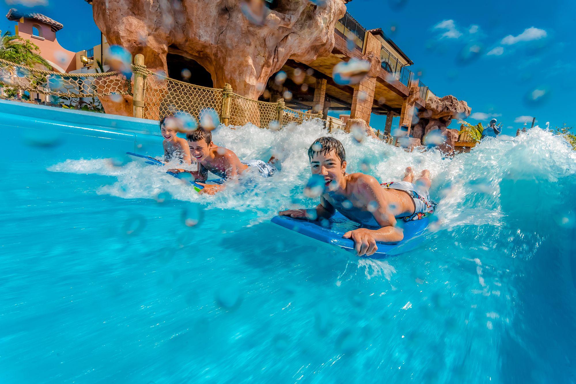 Beaches Turks Caicos Wave Simulator Kids