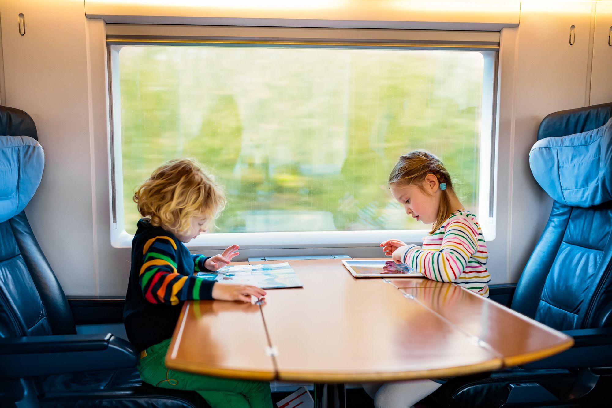 Kids Train Trip