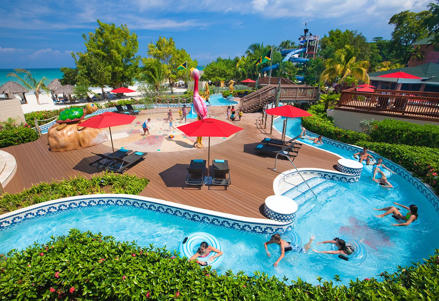 waterpark resort in Negril Jamaica