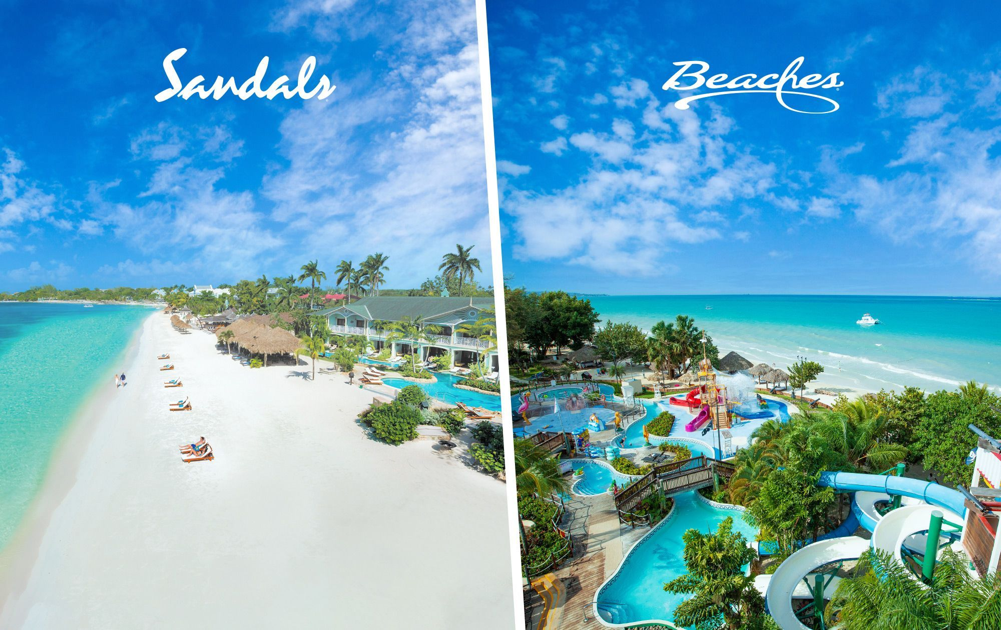Sandals Negril vs Beaches Negril
