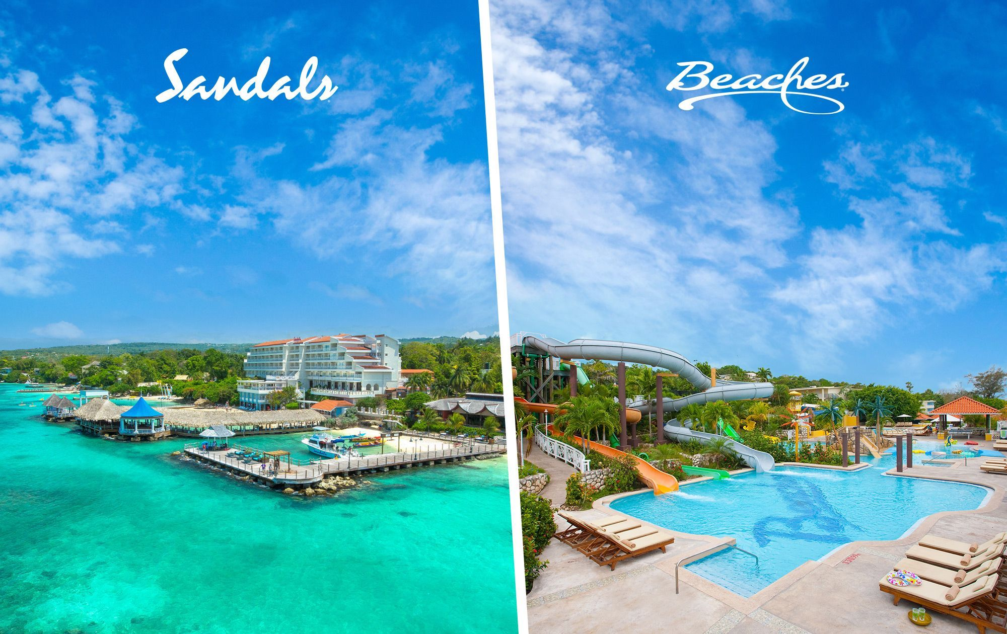 Sandals Ochi vs Beaches Ocho Rios